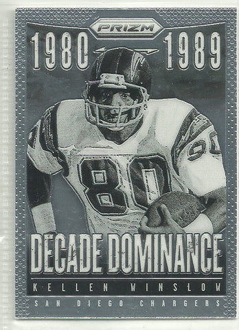Kellen Winslow 2013 Panini Prizm Decade Dominance #13