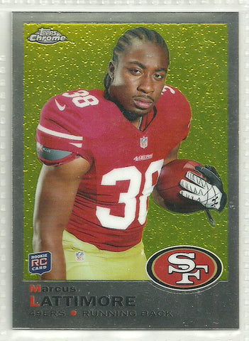 Marcus Lattimore 2013 Topps Chrome - 1969 Design #27