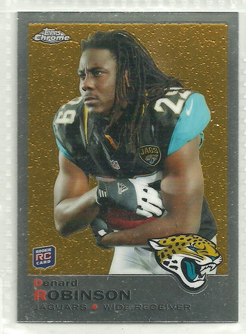 Denard Robinson 2013 Topps Chrome - 1969 Design #24