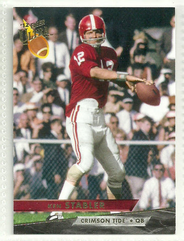 Ken Stabler 2012 Fleer Retro Ultra #8