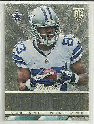 Terrance Williams 2013 Prestige - Prestigious Picks - Gold #13