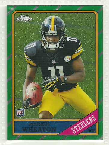 Markus Wheaton 2013 Topps Chrome - 1986 Design #15