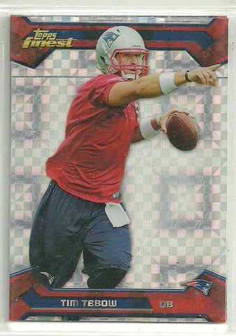 Tim Tebow 2013 Topps Finest - [Base] #73