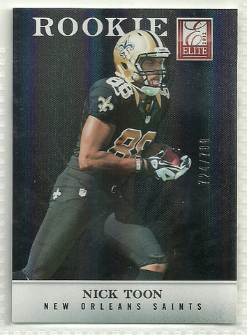 Nick Toon 2012 Elite #151 /799