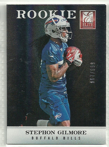 Stephon Gilmore 2012 Elite #157 /999 Rookie Card
