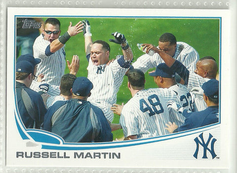Russell Martin 2013 Topps #282