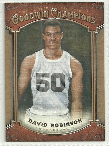 David Robinson 2014 Upper Deck Goodwin Champions #32
