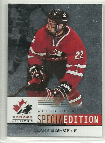 Clark Bishop 2014 Upper Deck Team Canada Juniors SE #SE-33