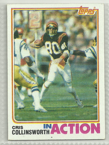 Cris Collinsworth 1982 Topps #45