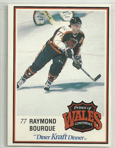Ray Bourque 1989-90 Kraft Dinner Card #52