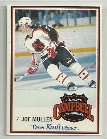 Joe Mullen 1989-90 Kraft Dinner Card #60