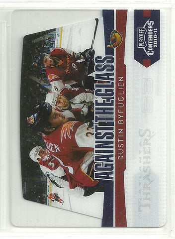 Dustin Byfuglien 2010-11 Panini Playoff Contenders Against the Glass #12