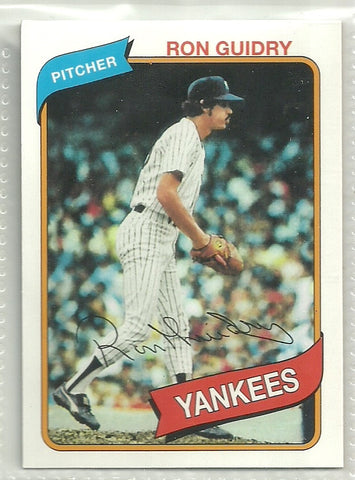 Ron Guidry 2011 Topps 60 Years of Topps #88
