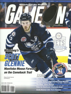 Scott Glennie Manitoba Moose Game On Magazine Year 5 Edition 1