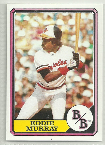 Eddie Murray 1987 Topps Boardwalk and Baseball Top Run Makers - Box Set #2