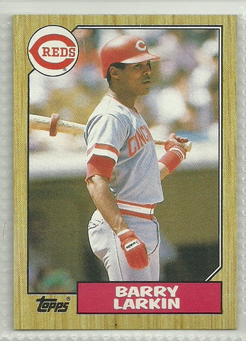 Barry Larkin 1987 Topps #648 Rookie Card