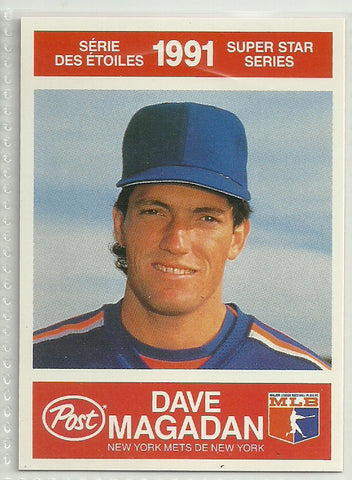 Dave Magadan 1991 Post Canadian Super Star Series #4