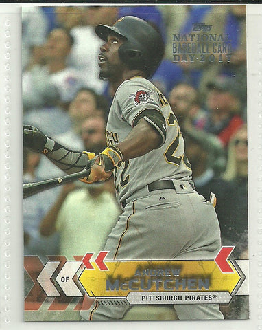 Andrew McCutchen 2017 Topps National Baseball Card Day #18