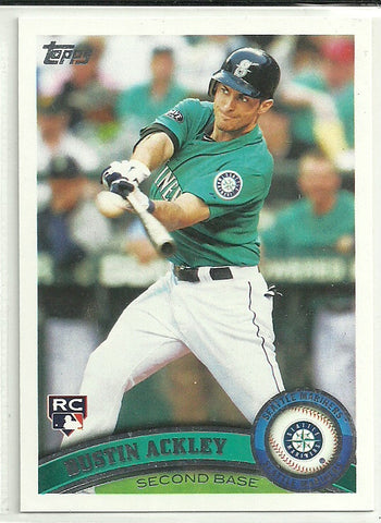 Dustin Ackley 2011 Topps Update Series #US30 Rookie Card