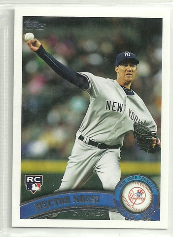 Hector Noesi 2011 Topps Update Series #US164 Rookie Card