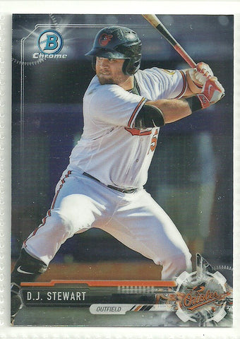 D.J. Stewart 2017 Bowman Chrome Prospects #BCP91