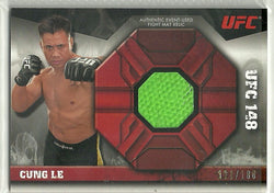 Cung Le 2013 Topps UFC Knockout - Fight Mat Relic #FMR-CL