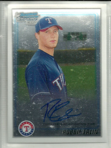 Robbie Erlin 2010 Bowman Chrome - Prospects - Autographs #BCP219
