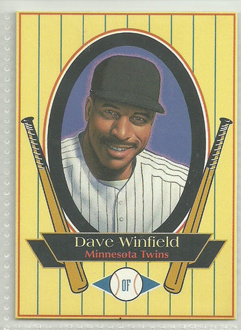 Dave Winfield 1993 Metz Baking - Food Issue #DAWI