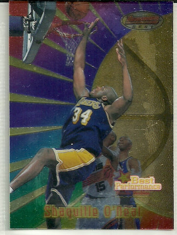 Shaquille O'Neal 1997-98 Bowman's Best #95