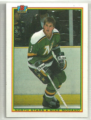 Mike Modano 1990-91 Bowman #188 Rookie Card