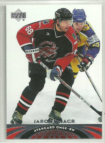Jaromir Jagr 2004-05 Upper Deck All-World Edition #29