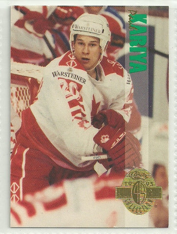 Paul Kariya 1993 Classic Four Sport Collection #188
