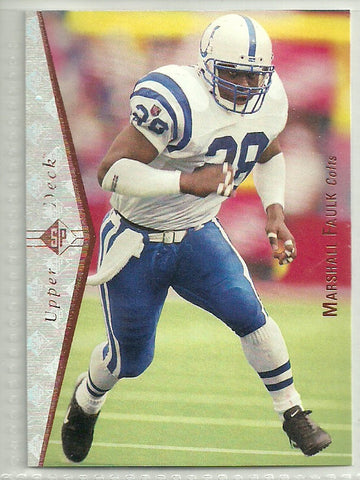 Marshall Faulk 1995 SP #146