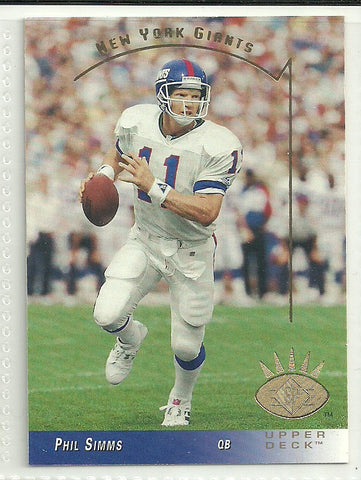 Phil Simms 1993 SP #188