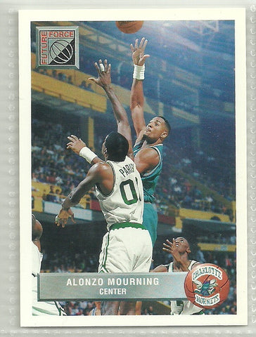 Alonzo Mourning 1992-93 Upper Deck McDonald's #P44