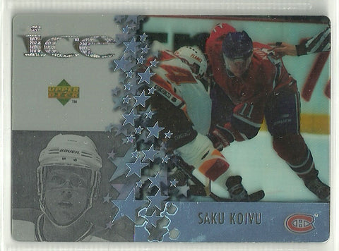 Saku Koivu 1997-98 Upper Deck McDonald's - Ice #MCD4