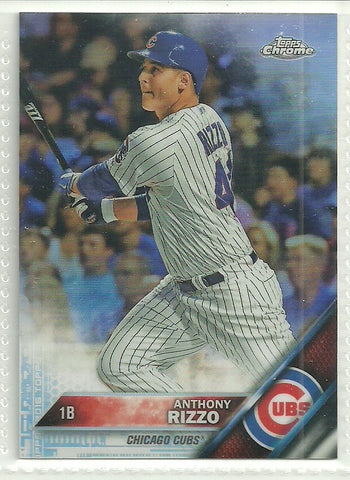 Anthony Rizzo 2016 Topps Chrome Refractor #87