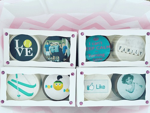 Surprise Your Guests - Cookies With Pictures On Them