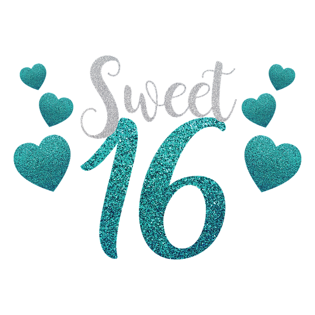 Sweet 16 Cookies are the Best Custom Treat!