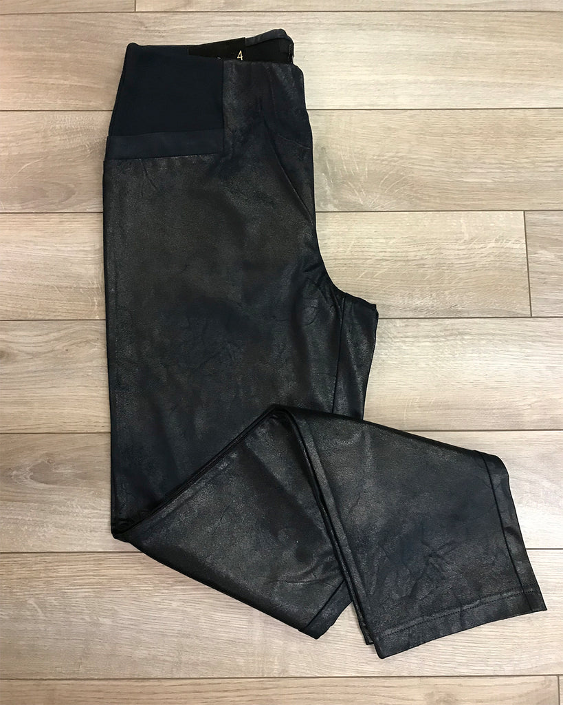Renuar Faux Leather Pant