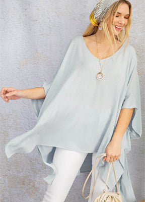 Drop Shoulder Poncho