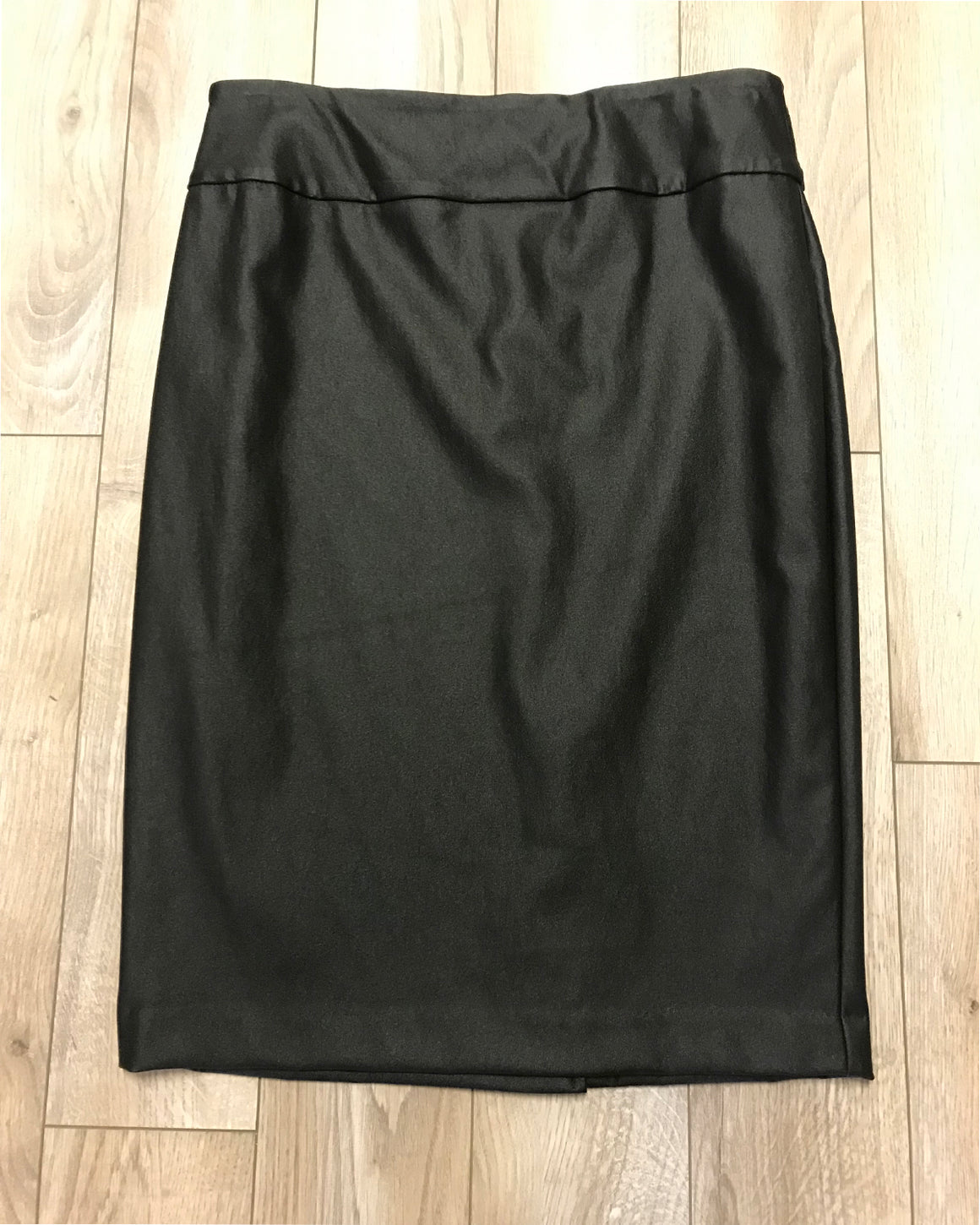 Up Montreal Vegan Leather Straight Skirt