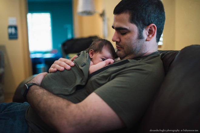 Kangaroo Care Benefits Dad & Baby