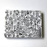 Millionz-O-Doodz Rectangle Canvas