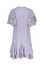 Brianne Double Ruffle Shirt Dress