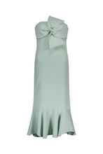 Jodhi Front Bow Strapless Dress