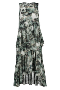 Anderson Two-Layer Midi Dress