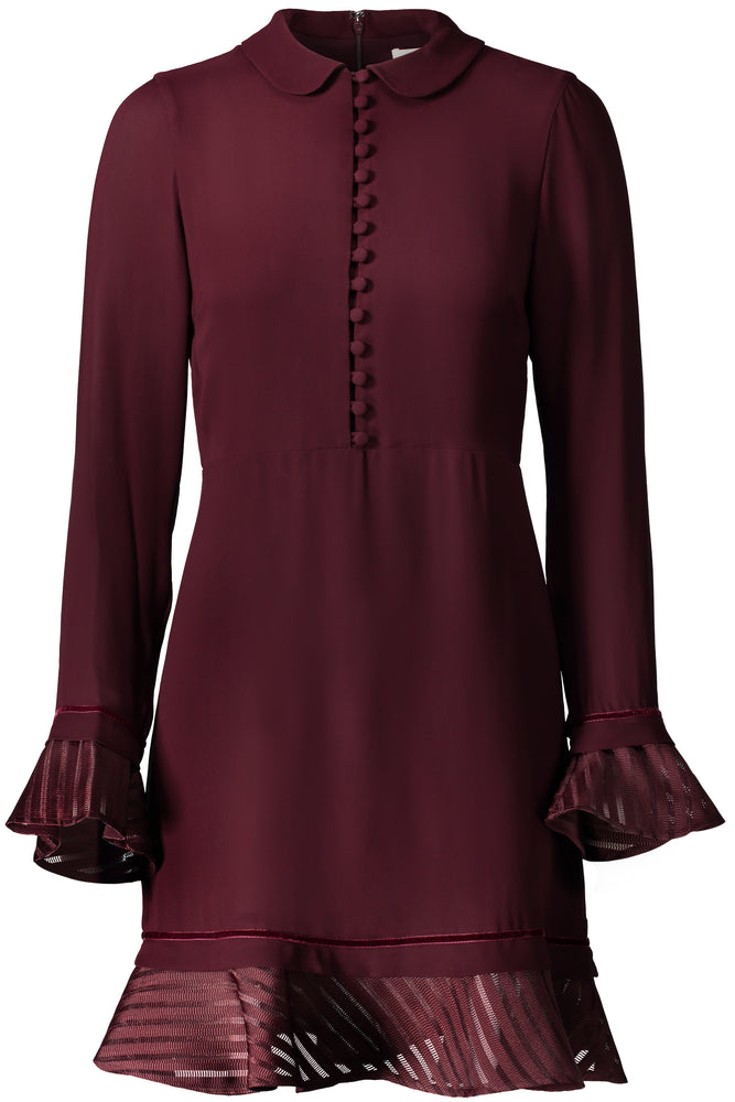 Maureen Long Sleeve Button Down Dress