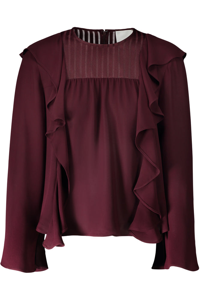 Violet Bell Sleeve Top