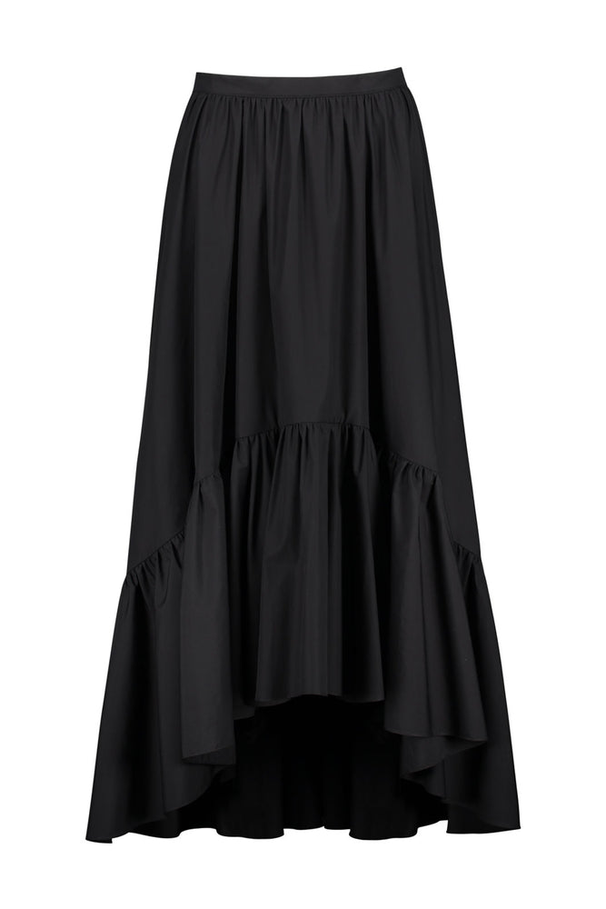 Fannie High-Low Ruffle Skirt